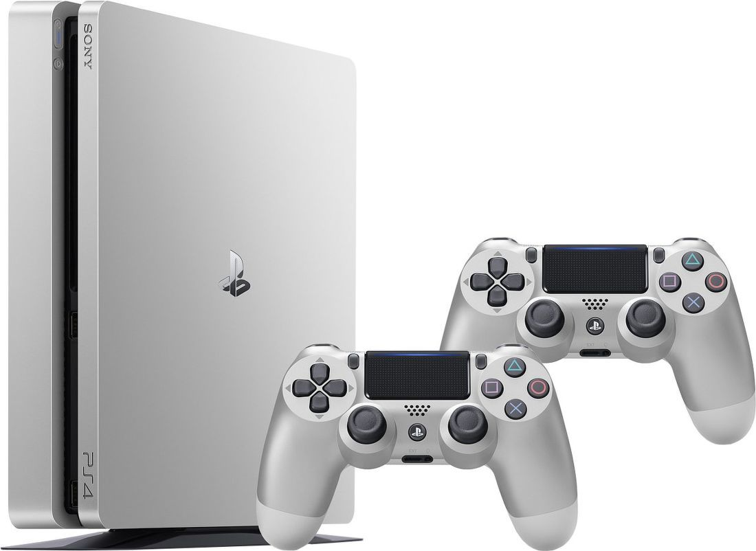 Sony PlayStation 4 SLIM 500GB stříbrná