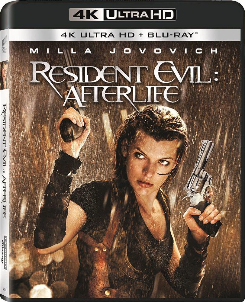 Resident Evil: Afterlife - 2xBD (Blu-ray + 4K UHD film)
