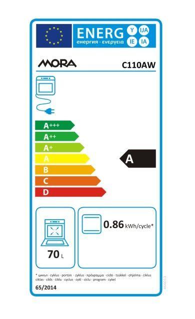 58fe99b1c MORA C 110 AW, bílý elektrický sporák   ElectroWorld.cz