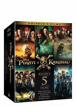Piráti z Karibiku 1-5 kolekce - Blu-ray