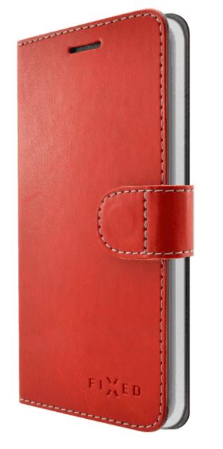 Fixed FIT knížkové pouzdro Huawei Smart Nova, červené