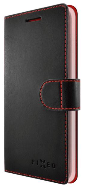 Fixed FIT knížkové pouzdro Honor 9, černé