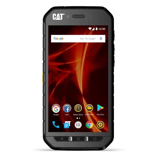 CAT S41 černý