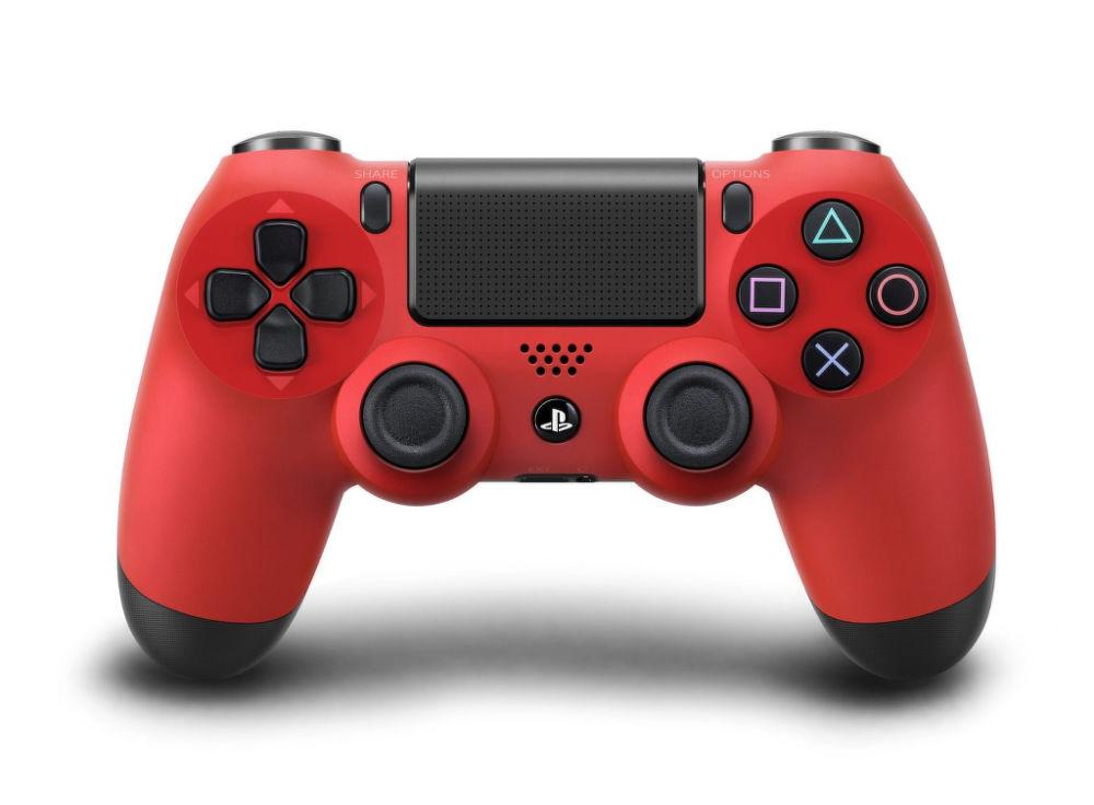 PS4 Dualshock Controller (červený)