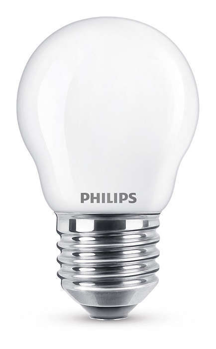 Philips Lighting E27 4,3W WW