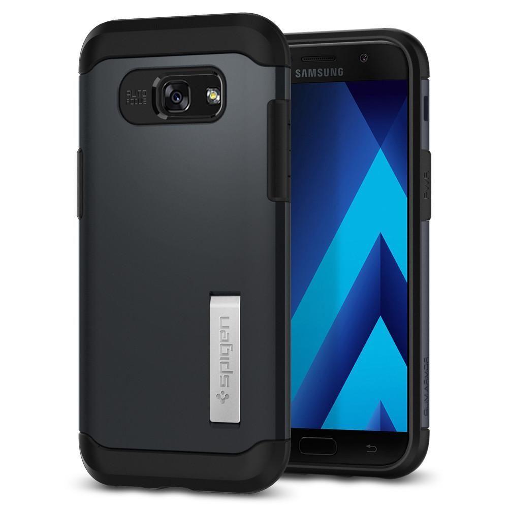 Spigen Galaxy A5 2017 Case Slim Armor, šedá
