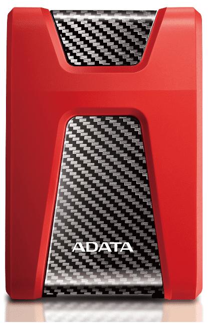 """A-DATA HD650 2.5"""" 2TB USB 3.1 červený"""