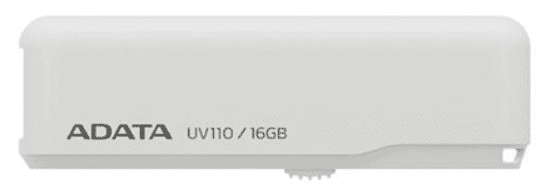 A-DATA UV110 16GB USB 2.0 bílý