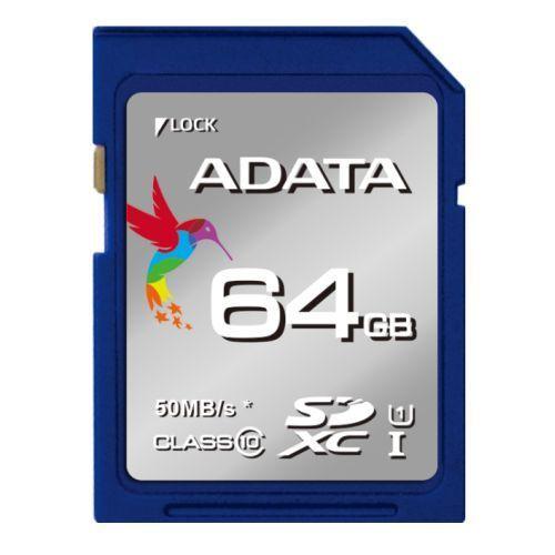 ADATA microSDXC 64 GB 50 MB/S U3 CLASS 10 UHS-I