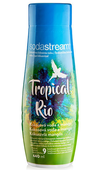 Sodastream Tropical Rio sirup (440 ml)