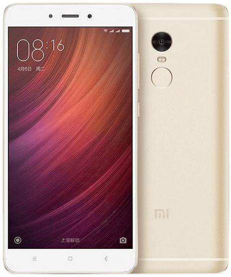 Xiaomi Redmi Note 4 4GB/64GB Dual SIM, zlatá
