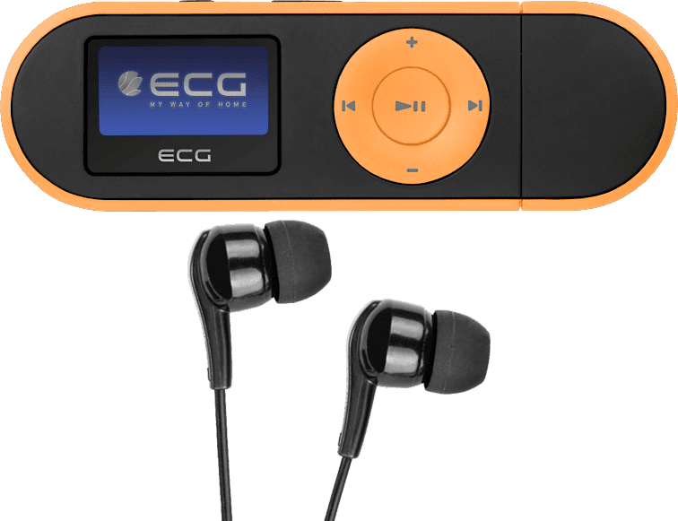 ECG PMP 20 4GB oranžový