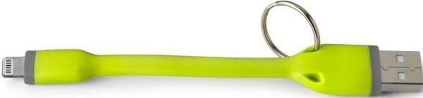 Celly Lightning-USB klíčenka, zelená