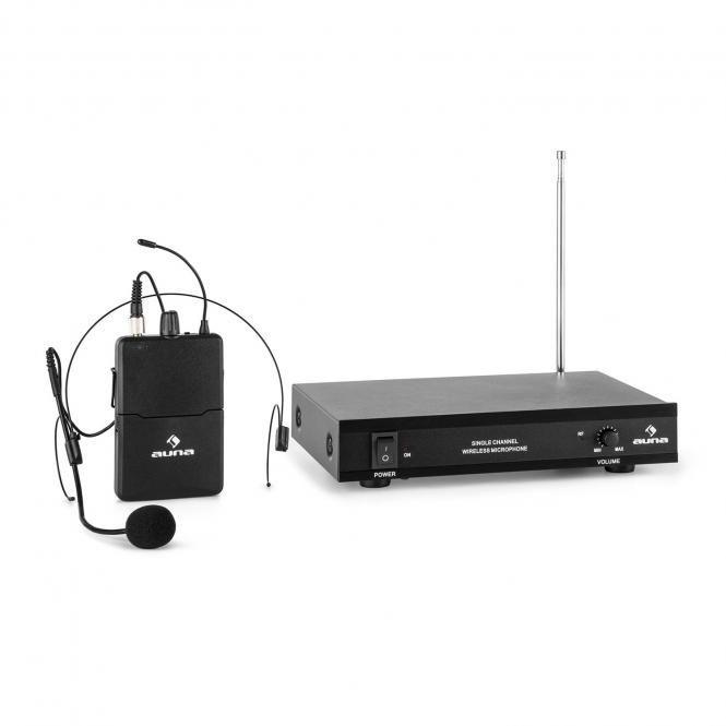 Auna VHF-1-HS bezdrátový mikrofonní set