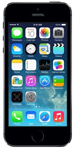Apple iPhone 5S 16 GB (vesmírně šedá)