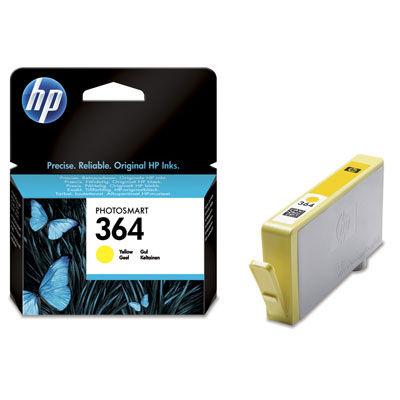 HP CB320EE No.364 yellow - inkoust