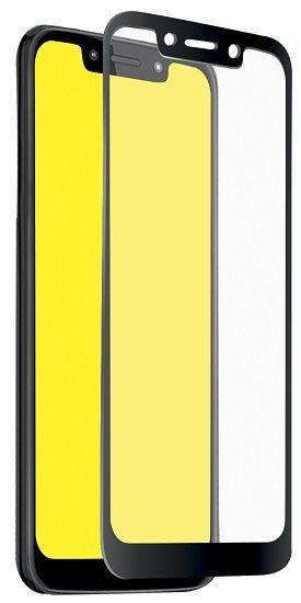 SBS Full Cover tvrzené sklo pro Motorola Moto G7 Play, černá