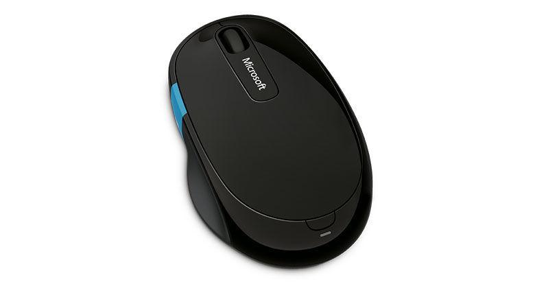 Microsoft Sculpt Comfort Mouse H3S-00002 černá - bezdrátová myš s BlueTrack senzorem