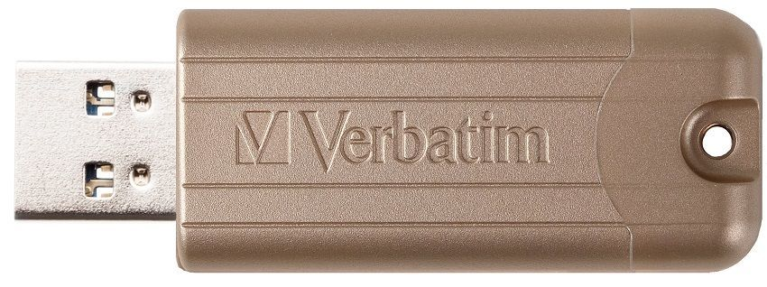 Verbatim PinStripe 64GB USB 3.0 zlatý