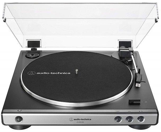 Audio-Technica LP60XUSB GM stříbrný