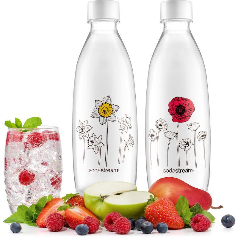 Sodastream Fuse Květiny v zimě náhradní láhve (1l/2ks)