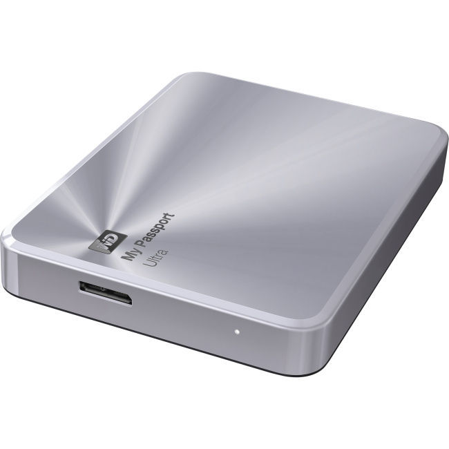 WD My Passport Ultra 2TB Metal Edition (stříbrný)