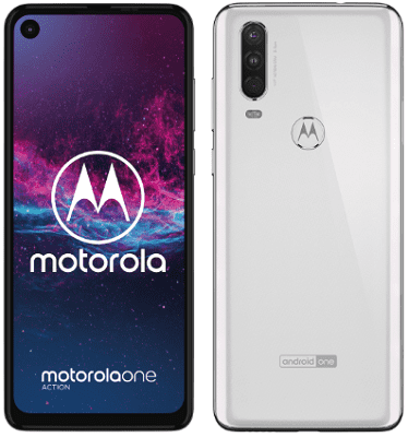 Motorola One Action bílý