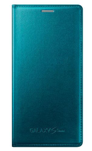 Samsung pouzdro pro Galaxy S5mini, EF-FG800BG (zelené)