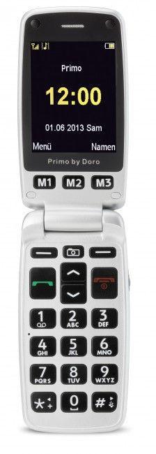 DORO Primo 413, Silver