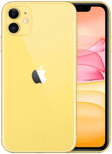 Apple iPhone 11 64 GB žlutý