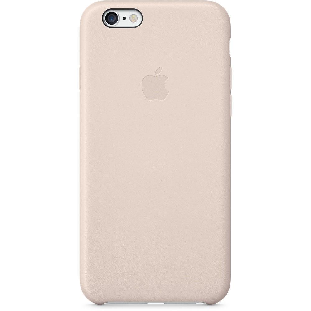 Kožené pouzdro pro Apple iPhone 6 (růžové)