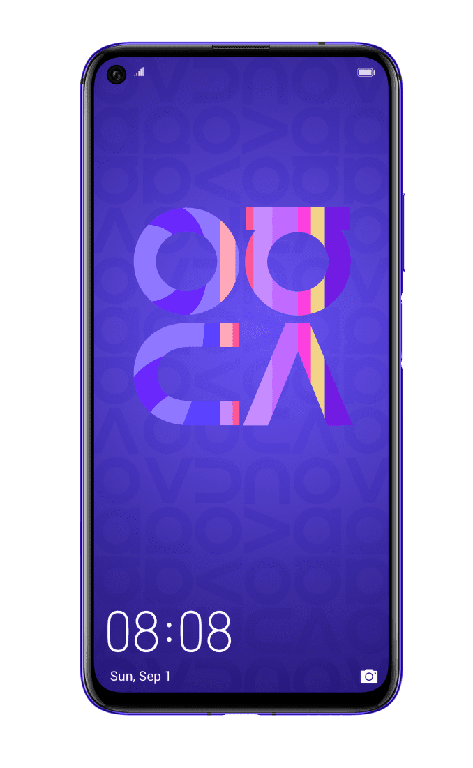 Huawei Nova 5T fialový