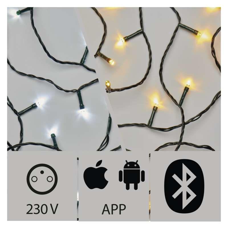 Emos ZY2190 APP 150 LED světelný řetěz