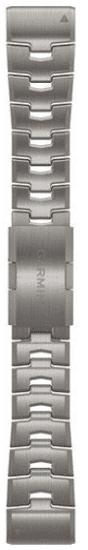 Garmin QuickFit 26mm titanový řemínek pro Fénix 6X, stříbrná