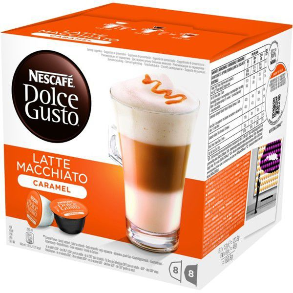 dolce gusto latte macchiato caramel how to make