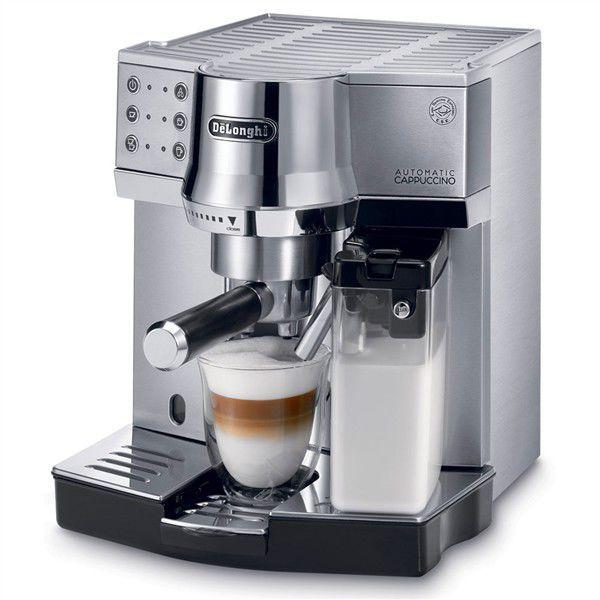 DELONGHI EC850 (stříbrná) - Pákový kávovar