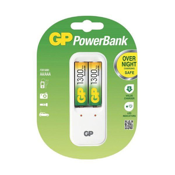 GP B0041 - PowerBank PB410 + 2xAA 1300mAh