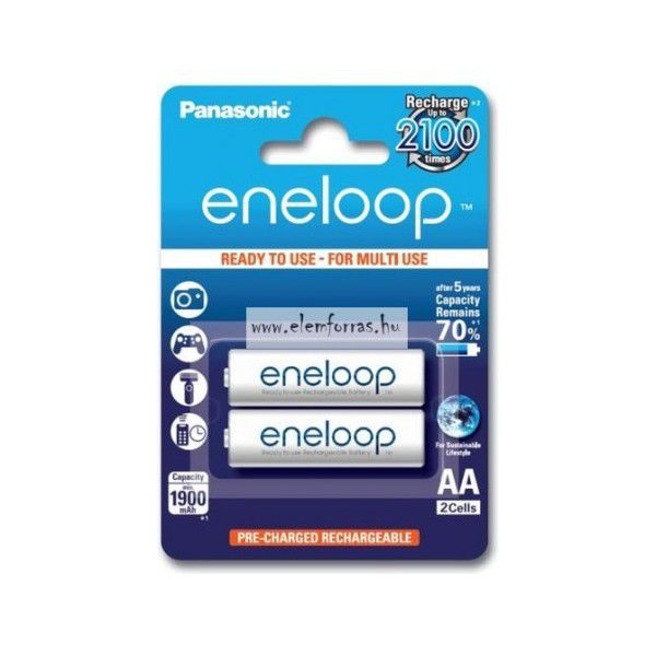 Panasonic Eneloop AA 1900 2BP