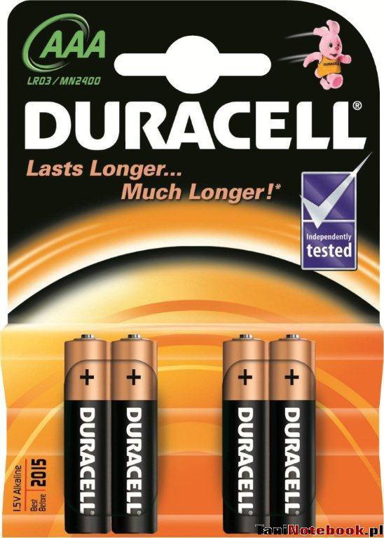 DURACELL Basic 2400K4 4ks - tužkové baterie AAA