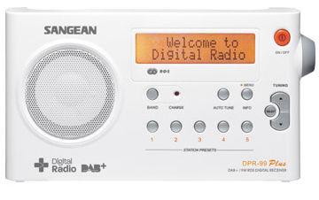 Sangean DPR-99 - digitální rádio