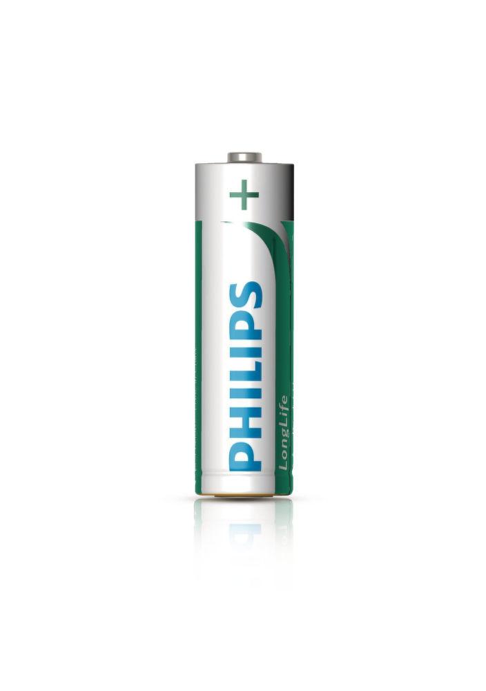Philips LongLife R6L4B AA, 4ks