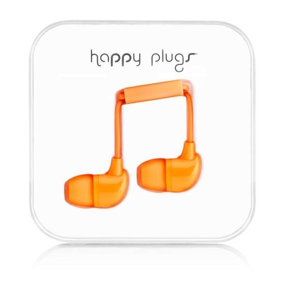 Happy Plugs In-Ear 7723 (oranžová)