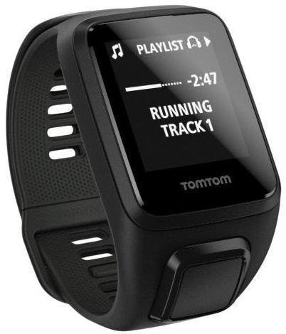 TomTom Spark 3 L Cardio+Music+Headphones (černé)