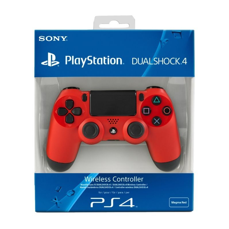 Sony PS4 Dualshock Magma Red