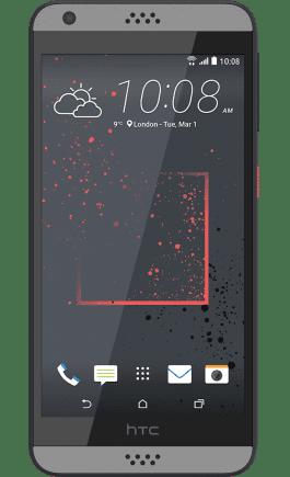 HTC Desire 530 šedý
