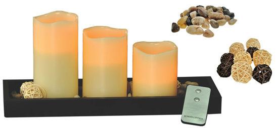 Solight WS08 - sada LED voskových svíček