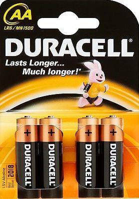 DURACELL Basic 1500K4 4ks - tužkové baterie AA
