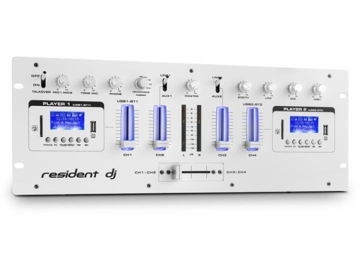 Resident DJ DJ405USB bílý