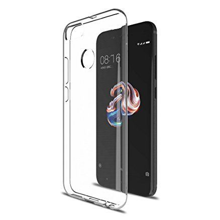 Mobilet pouzdro pro Xiaomi Mi A1, transparentní