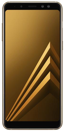 Samsung Galaxy A8 2018 zlatý + dárek Samsung Gear VR R325 zdarma